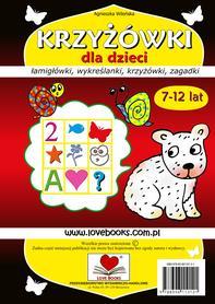 Krzyżówki dla dzieci 7-12 lat
