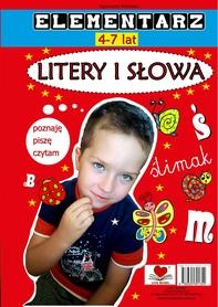 Elementarz 4-7 lat. Litery i słowa