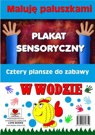 Plakaty sensoryczne. Maluję paluszkami. W wodzie (1)