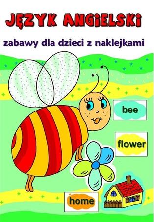 Język angielski. Zabawy dla dzieci z naklejkami  (1)