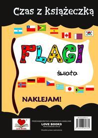 Czas z książeczką. Flagi świata z naklejkami